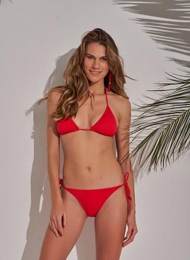 Morhipo Beach Üçgen Bikini Kırmızı